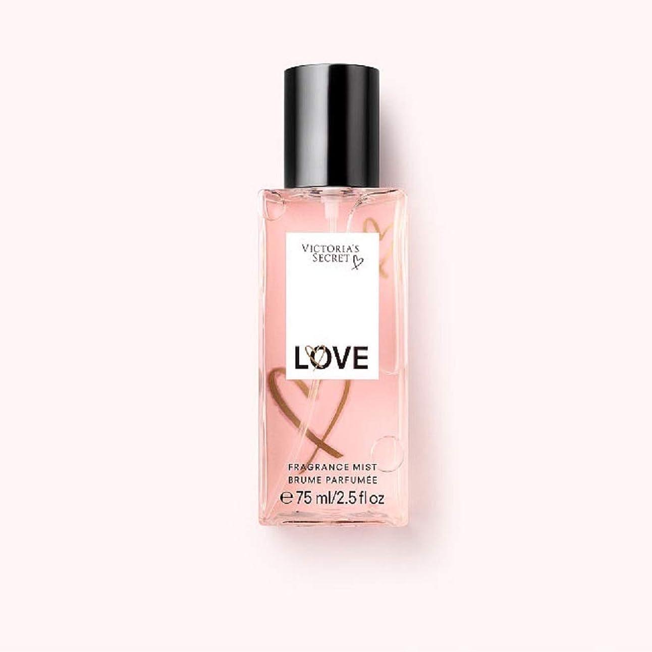 相談するアルミニウムにやにやトラベルサイズフレグランスミスト TravelSize FragranceMist ヴィクトリアズシークレット Victoria'sSecret (5.ラヴ/LOVE) [並行輸入品]