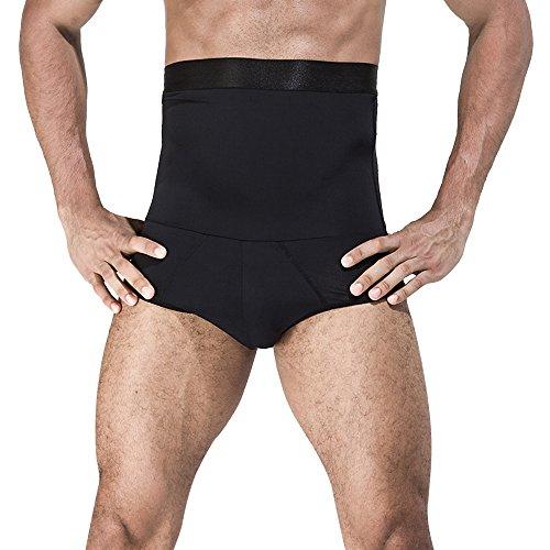 Rera Herren Body Shaper Hohe Taille Figurformend Bauchweg Unterwäsche Schlanke Tailemieder Funktions Unterhose