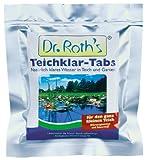 Söll 10084 Dr. Roth's Teichklar mikrobiologische Teichreinigung und Algenprophylaxe 4 Tabs - schadstoffabbauende Mikroorganismen für natürliche Wasserklärung im Teich Schwimmteich Fischteich