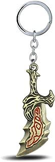 Reddream God of War Keychain, Kratos Keyring Toys Charms Jewelry Gifts