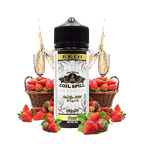 Rkoi - Coil Spill E-Liquid | 100ML | Sin Nicotina: 0MG | 70VG 30PG | E-Liquido para Cigarrillos Electronicos | Vaper | E Cigarette | E Shisha