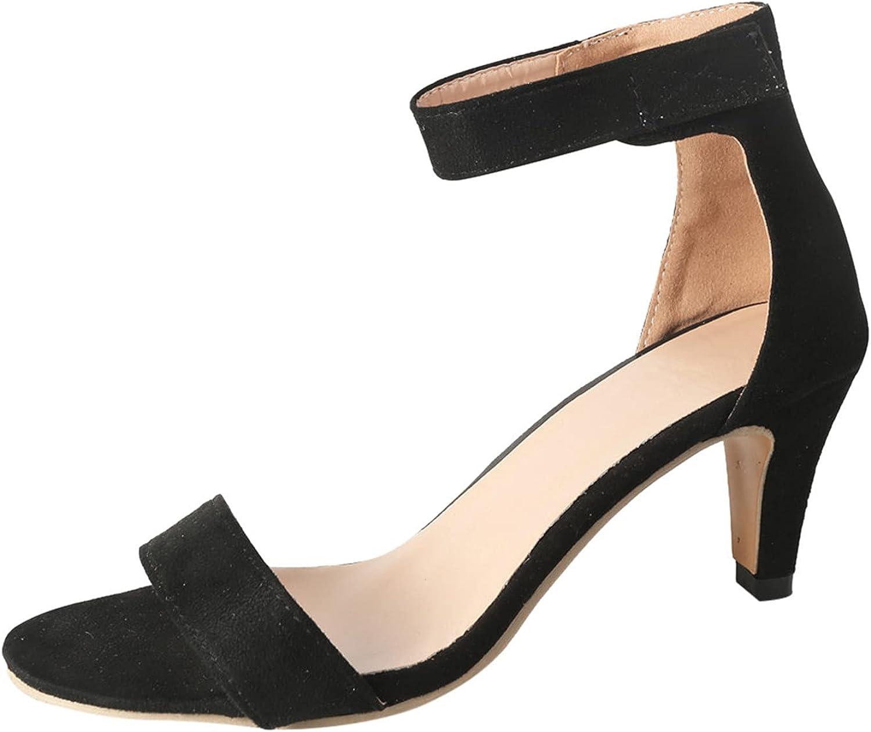 Hemlock Women High Heels Sandals Stilettos Open Toe Pump Heel Sandals Wedges Wedding Party Sandals Shoes