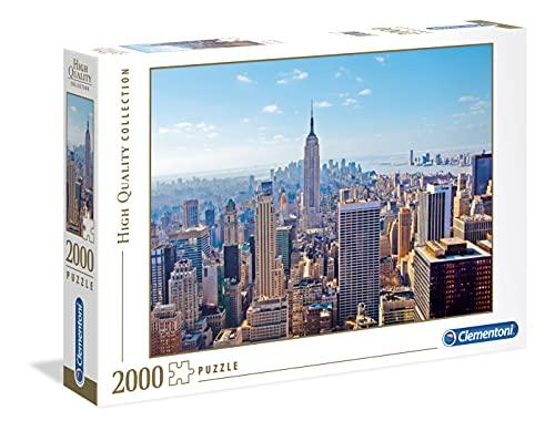 Clementoni Pingüinos De Madagascar Puzzle 2000 Piezas New York, Color (32544.3)