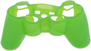 KESOTO Silicone Protective Skin Cover For Sony PS3/PS2 Gamepad Rubber Protective Case For Playstation 3 Controller -Green
