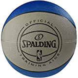 Spalding NBA Weighted Rubber 3 lb. Training Aid Basketball, Blue, Size 7