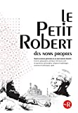 Dictionnaire Le Petit Robert Des Noms Propres 2015