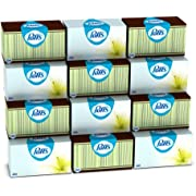 Puffs Basic Facial Tissues, Family Boxes, 200 Count (Pack of 12)