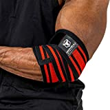 Best Elbow Wraps - Iron Bull Strength Elbow Wraps for Weightlifting Review