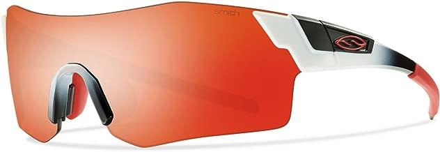 Smith Optics Pivlock Arena Max Sunglass with Red Sol-X