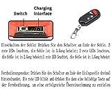 LanXi Schuhheizung Deluxe – kabellose, beheizbare Thermosohle, Einlegsohlen mit Akkubetrieb und Funkfernbedienung, Verschiedene Größen, wiederaufladbar (35-40) - 5