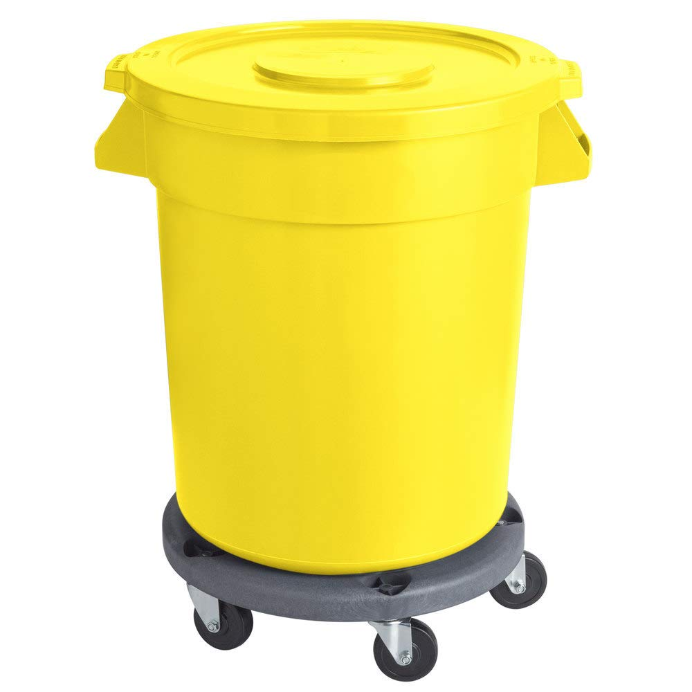 Max 51% OFF 80 Qt. 20 Gallon 75 Ingredien Credence Commercial Round Yellow Liters