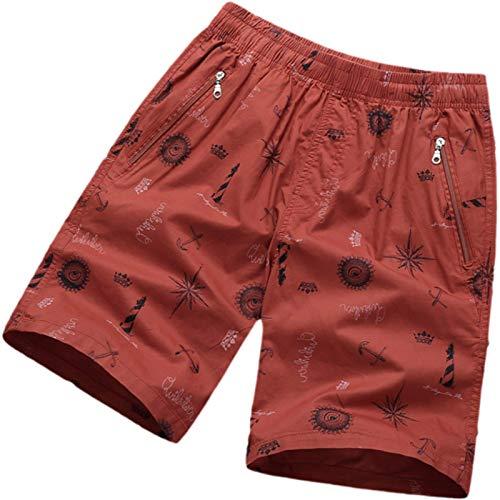 Pantalones Cortos Holgados para Hombre, Pantalones Cortos Holgados de Verano de Gran tamaño, Informales, cómodos, con Cintura elástica, Pantalones Cortos de Entrenamiento para Entrenamiento al XXL