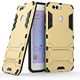 Coque Huawei Nova 2 Plus, MHHQ 2 en 1 Armour style robuste hybrides double couche Armure Defender...
