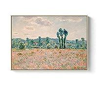 BOIPEEI パズル木製1000ピース北欧モダン抽象風景ジグソーパズルモネ絵画家の装飾