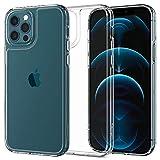 Spigen Cover Quartz Hybrid Compatibile con Compatibile con iPhone 12 Compatibile con iPhone 12 PRO - Trasparente