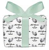 Juego de 5Hi hojas de papel de regalo de Navidad Piñas & Ramas en blanco y negro en Navidad & Advent Tiempo • Navidad Papel para regalos de Navidad Calendario de Adviento, etc. (Formato: 50x 70cm)