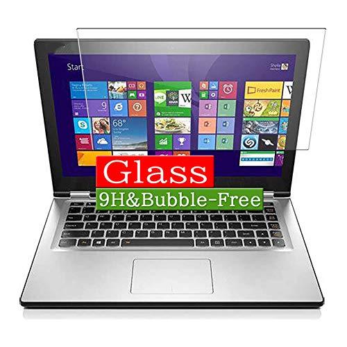VacFun Vidrio Templado Protector de Pantalla para Lenovo Yoga 2 Pro 15.6' Visible Area, 9H Cristal Screen Protector Película Protectora(Cobertura no Completa)