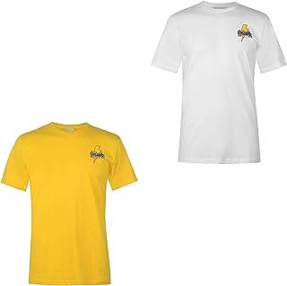 Official Brand Airwalk Bolt Since 1986 Print T-Shirt Mens Skateboarding Top Tee White Small