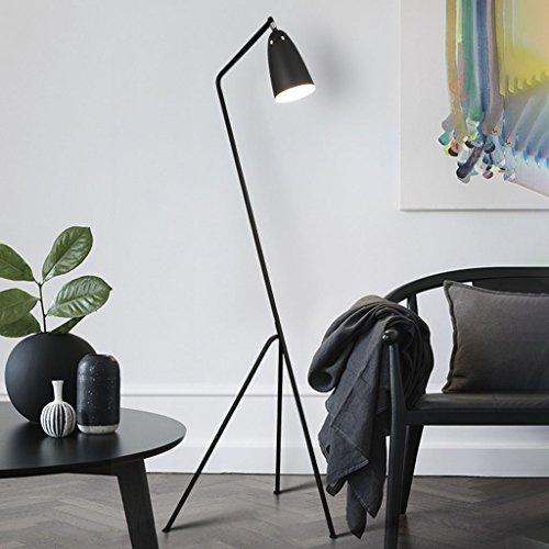 WYFX Luces de Piso Diseño nórdico Led Creatividad Dormitorio Sala de Estar Lámpara Estudio Lámpara de pie de Noche Moderna