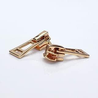 TAYARA 10 Pcs 5# Fashion Zipper Repair kit Bulk Universal Replacement Slider Sewing Hobby Lobby Corset Clothes Bag Jackets Tents Luggage Sleeping for DIY Handwork Clothing Tailor Tools (Rose Gold)