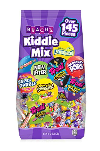 Brach's Kiddie Mix Variety Pack Individually Wrapped Candies, 48 Ounce from Ferrara Pan Candy Co.