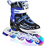 Hikole Inline Skates für Jungen Männer, verstellbare Rollschuhe...