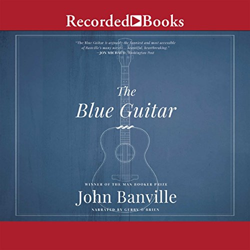 The Blue Guitar audiobook cover art