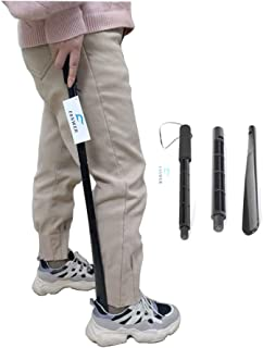 Fanwer Detachable and Adjustable ABS Light 29.8 Inch Long Shoe Horn for Household and Traveling