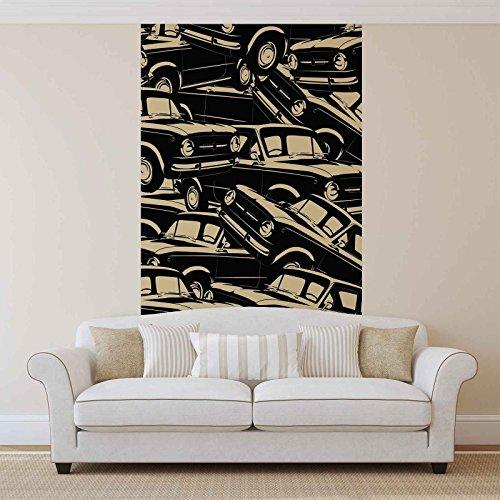 Autos, vintage, fotobehang, muurschildering, behang, 2464FW