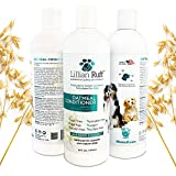 Lillian Ruff Dog Oatmeal Conditioner - Lavender Coconut Scent for Itchy Dry Skin with Aloe - Soothe Skin Irritation and Relieve itching - Made in USA