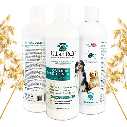 Lillian Ruff Dog Oatmeal Conditioner