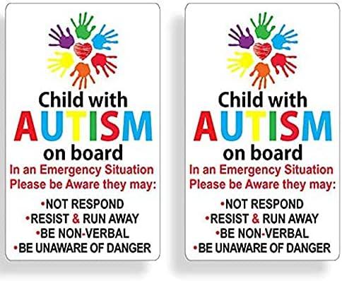 Autism car sticker