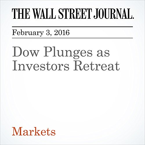 Dow Plunges as Investors Retreat cover art