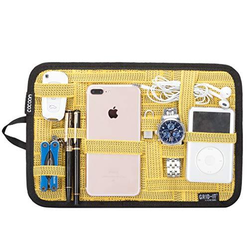 Cocoon Grid-IT! - Organizador para Dispositivos electrónicos (Medium 12 x 8) Color Amarillo