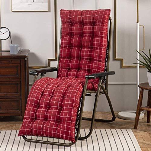 Sedia a dondolo Sdraio da spiaggia Cuscino portatile Spesso Relaxer sedia materasso morbido schienale cuscini di seduta della copertura for il viaggio Holiday Garden Veranda Interni Esterni mat