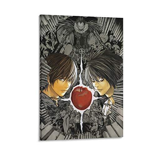GIUU Póster Death Note Tome 13, cuadro decorativo, lienzo para pared, sala de estar, póster para dormitorio, 20 x 30 cm