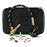 Alien Sunshade Tire Deflator 0-75psi Air Down Tire Deflators Kit - Accurate & Fast Tire Air Down Tool – Includes Case & Offroad Accessories 4x4 - Quickly Deflate Jeep, Truck, SxS, ATV, RV Tires