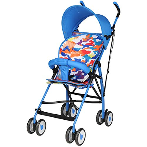 Why Choose Baby strollers can sit and lay without the need to install carts Lightweight folding simp...
