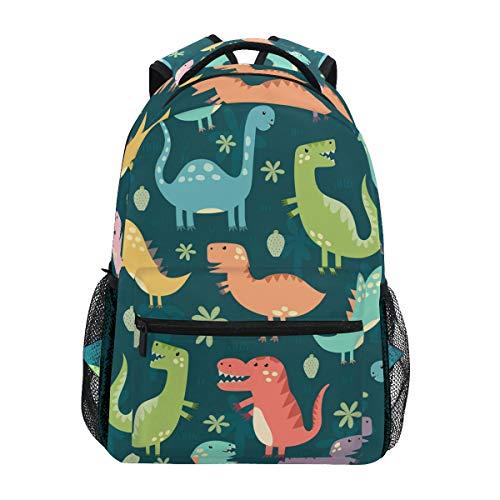 Daisy Dinosaurio Lindo Mochila Escolar Impermeable Mochilas Escolares para Estudiante Adolescentes Niñas Niños