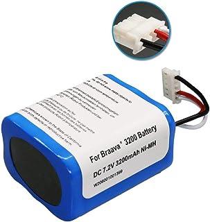 alix ブラーバ 380J バッテリー 3200mah 互換 Irobot Braava 380J 380T Mint Plus 5200 5200c 5200B 対応 アイロボット ブラーバ 7.2V 3.2Ah 交換用 汎用 ニッケル水素充電池