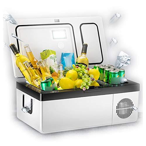 DUTUI Autokühlschrank Kompressor Kühlung, LKW, Auto, Kleine Gefriertruhe, Car Home Dual-Use-Kühlung Und Gefrieren