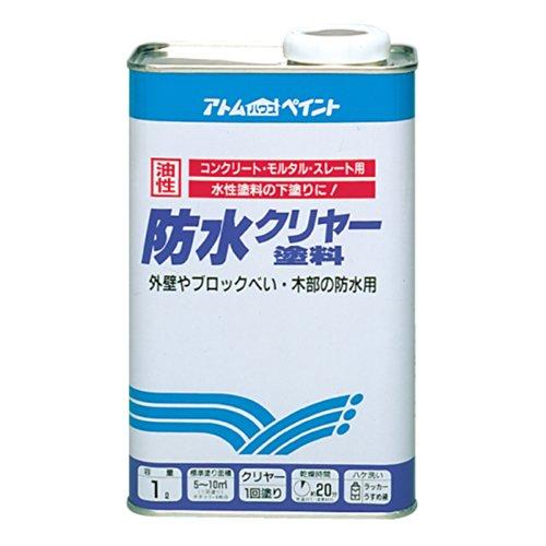 防水クリヤー塗料 1L
