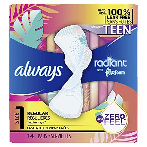 Best maxi pads for tweens