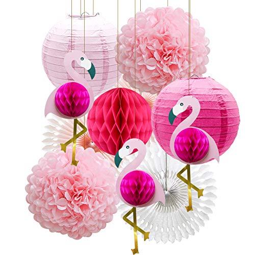 Tropical Pink Flamingo Party Decoration