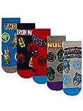 Marvel Jungen Socken Packung mit 5 Mehrfarbig 31-36