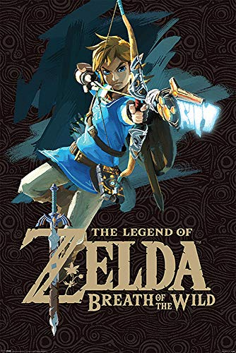 Close Up The Legend of Zelda Poster Breath of The Wild (61cm x 91,5cm)