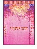 ねこの引出し PAPAYAグリーティングカード 「I Love You」