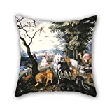 The Oil Painting Brueghel, Jan, The Younger – The Animals Entering Noahs Ark Throw...