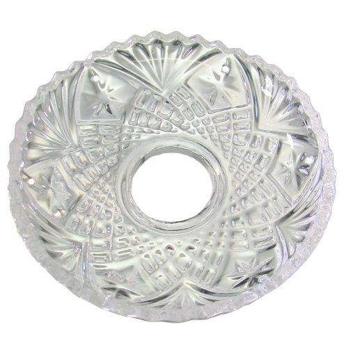 Lichtschale~ Bobeche Ø100mm Bleikristall 6 Seitenlöcher ~ Kronleuchter Lüster