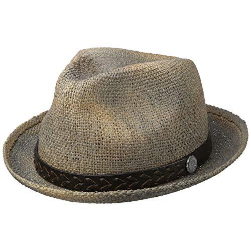 Leisial Donne Del Cappello Pescatore Cappello Estivo Anti UV Pieghevole Cappello A Tesa larga Cappello Pescatore Selvaggio Cappello Femminile,cachi,56-58cm